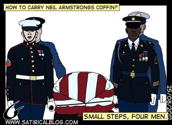 Armstrong-funeral